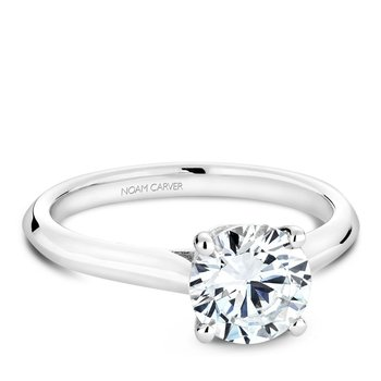 Noam Carver Modern Engagement Ring B143-01A