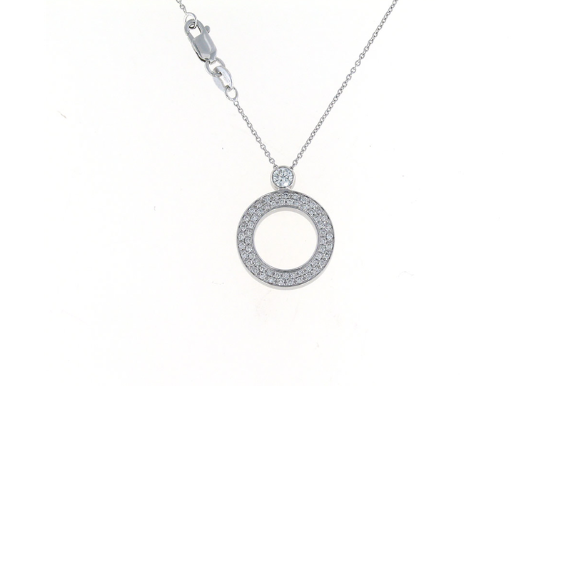 Roberto Coin Cento Baby O Pendant (Without Center)