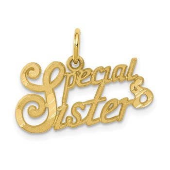 10K SPECIAL SISTER Charm