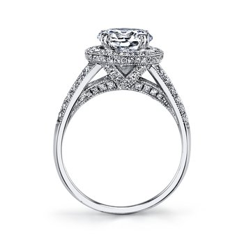 Diamond Engagament Ring 0.73 ct tw