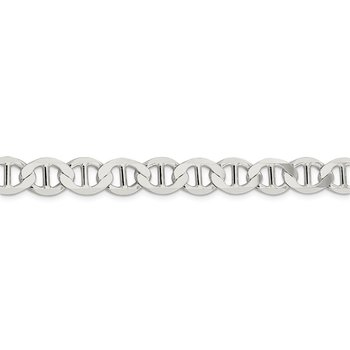 Sterling Silver 9.95mm Flat Anchor Chain