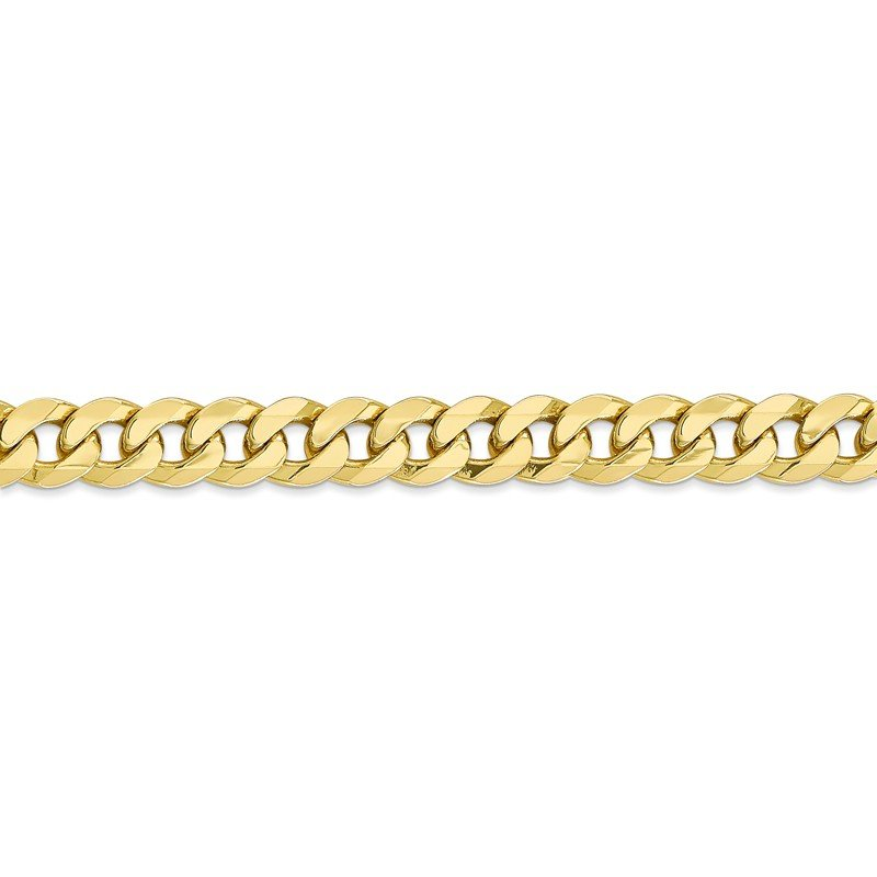 Leslie's Leslie's 10K 8mm Flat Beveled Curb Chain