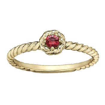 Garnet Ladies Solitaire