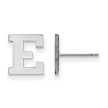 Sterling Silver Eastern Michigan University NCAA Earrings