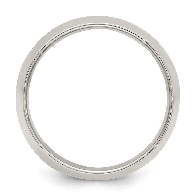 Quality Gold Sterling Silver 12mm Half Round Size 10 Band