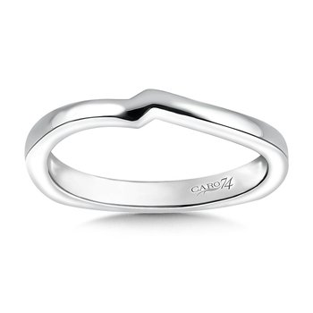 Wedding Band in 14K White Gold