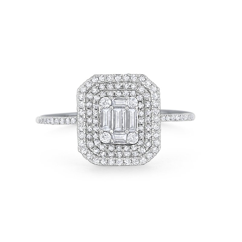 KC Designs Diamond Metropolis Ring Set in 14 Kt. Gold