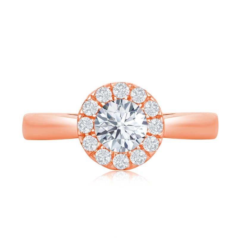 Veer Diamonds WHITE GLOVE CUSHION RING
