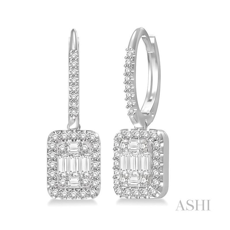 ASHI fusion diamonds earrings