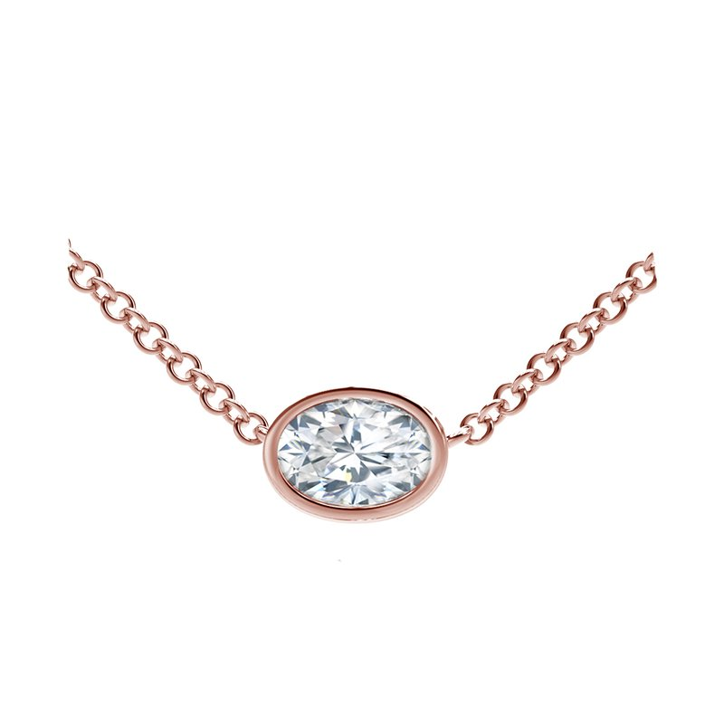 Forevermark The Forevermark Tribute™ Collection Oval Diamond Necklace