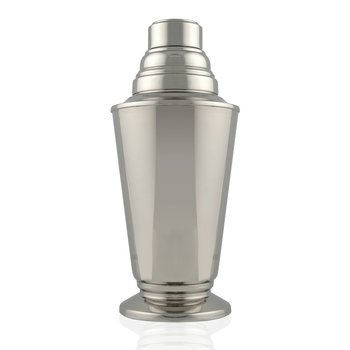 Cocktail Shaker Nickel Plate 9½""