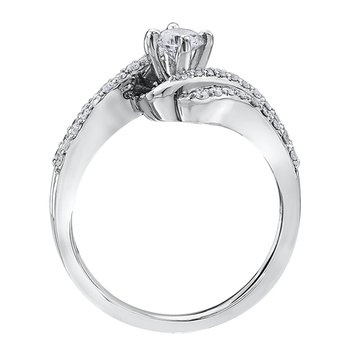 Maple Leaf Diamonds™ Ladies Engagement Ring