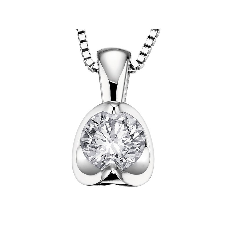 Diamond Days Diamond Solitaire Pendant