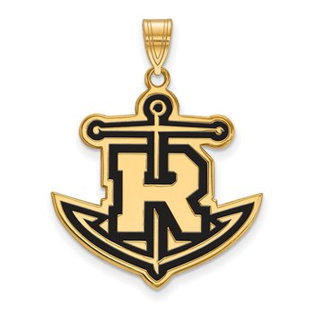Gold-Plated Sterling Silver Rollins College NCAA Pendant