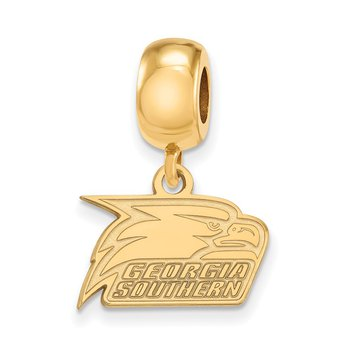Gold-Plated Sterling Silver Georgia Southern University NCAA Bead