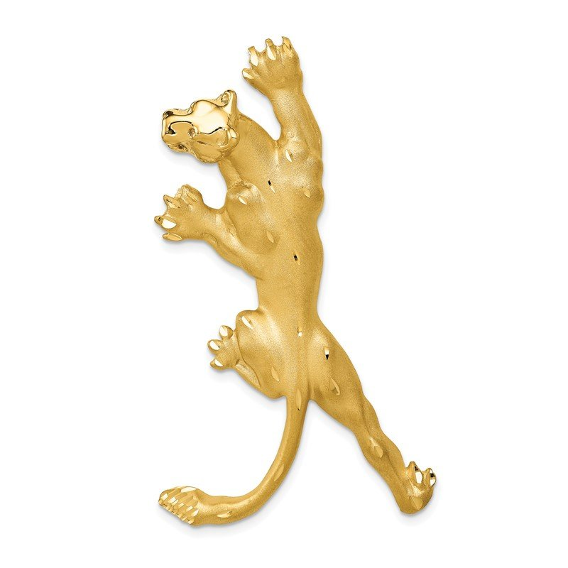 Quality Gold 14k Panther Pendant