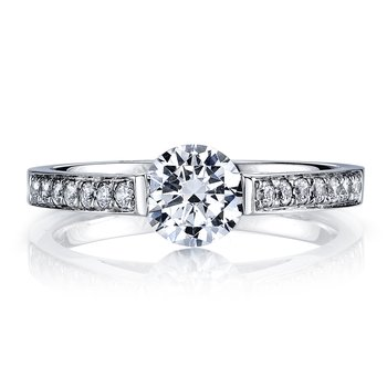 MARS 25721 Diamond Engagement Ring 0.20 Ctw.