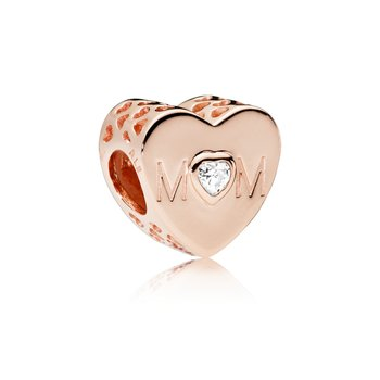 Mother Heart, Pandora Rose™ Clear Cz