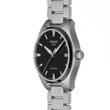 T-Tempo Men's Black Automatic Classic Watch