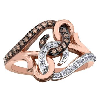Nat Brown Diamond Ladies Ring