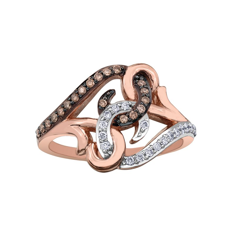 Diamond Wishes Nat Brown Diamond Ladies Ring