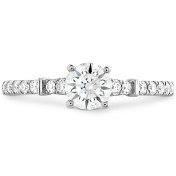 0.26 ctw. Cali Chic HOF Rope Engagement Ring