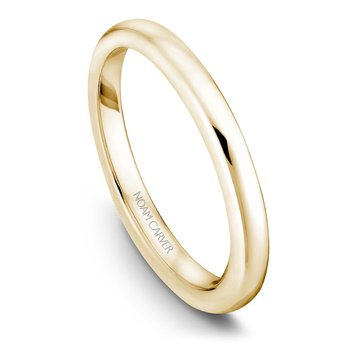 Noam Carver Wedding Band B018-01YB
