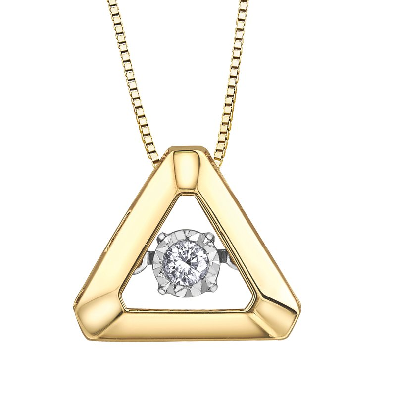 Timeless Beauty Pulse™ Diamond Solitaire Pendant