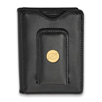 Gold-Plated Sterling Silver Tampa Bay Lightning NHL Wallet
