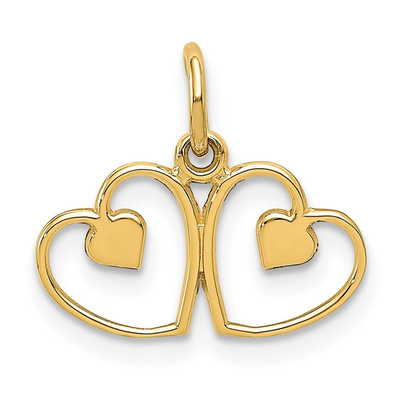 Quality Gold 14k Heart Charm