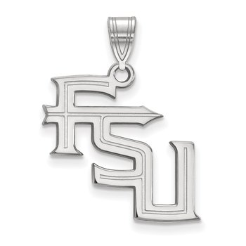 Gold Florida State University NCAA Pendant