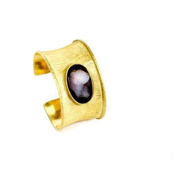 Rinehart Small Gold Cuff