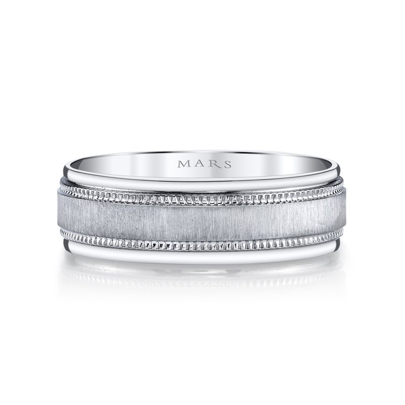 MARS Jewelry MARS G125 Men's Wedding Band
