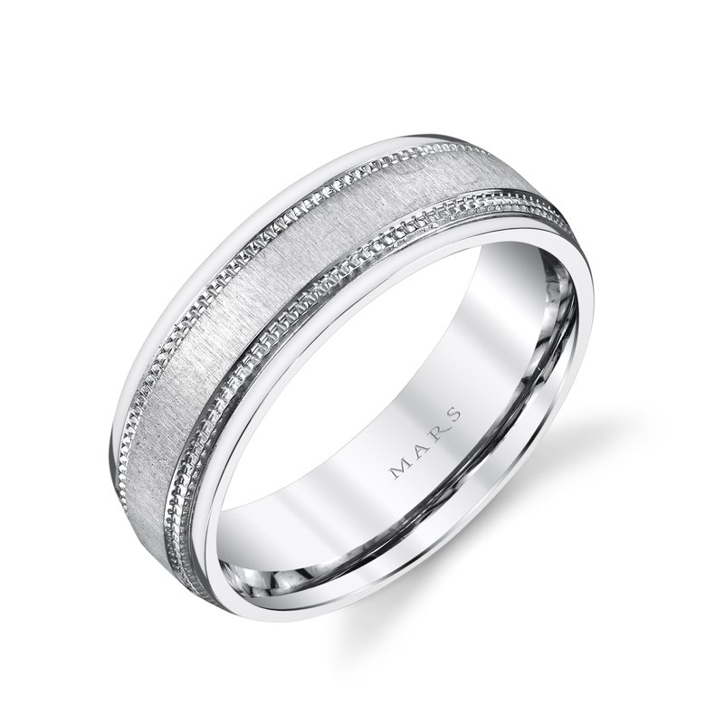 MARS Jewelry - Wedding Band G125