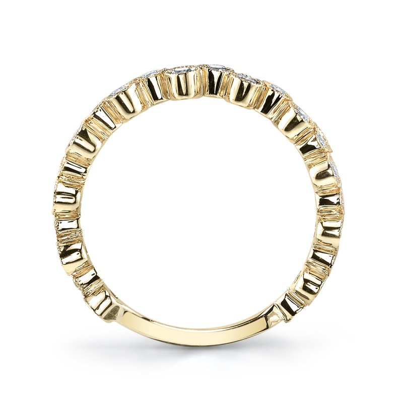 MARS Jewelry MARS 26202YG Stackable Ring, 0.50 Ctw.