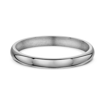 D Shape Wedding Band