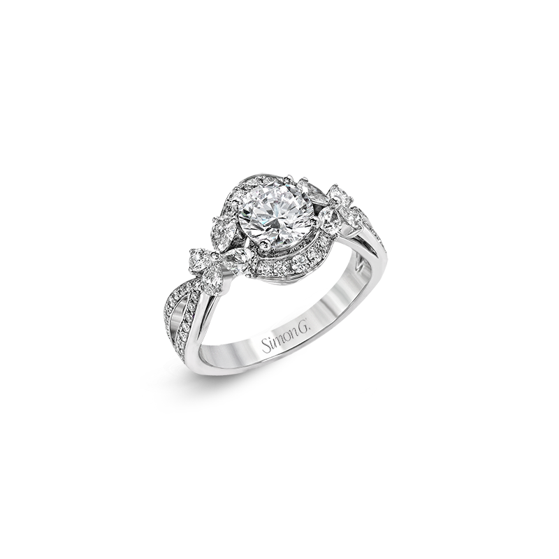Simon G MR2701 ENGAGEMENT RING