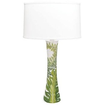 Painted Palms Lamp