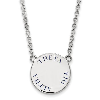 Sterling Silver Theta Phi Alpha Greek Life Necklace