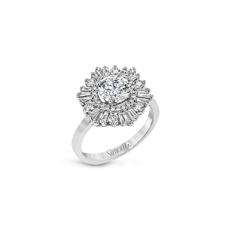 Simon G MR4089 ENGAGEMENT RING