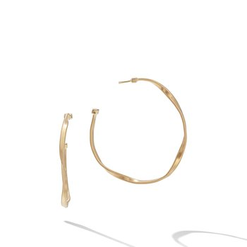 Marrakech Gold Medium Hoop Earrings