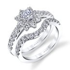 MARS Jewelry MARS 26947 Engagement Ring, 0.81 Ctw.