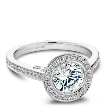 Noam Carver Vintage Engagement Ring B016-01A