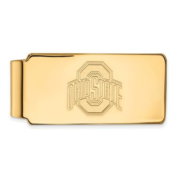 Gold Ohio State University NCAA Money Clip