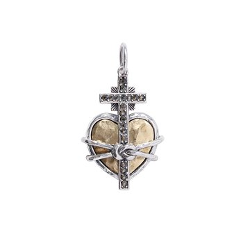 Heart Of Loreto Charm