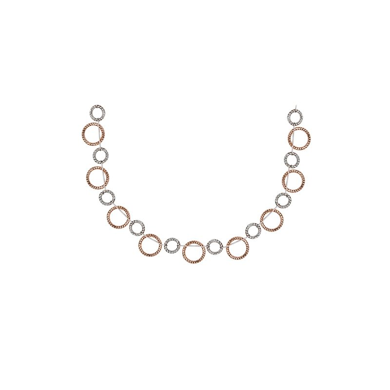 Frederic Duclos Zig Zag Necklace
