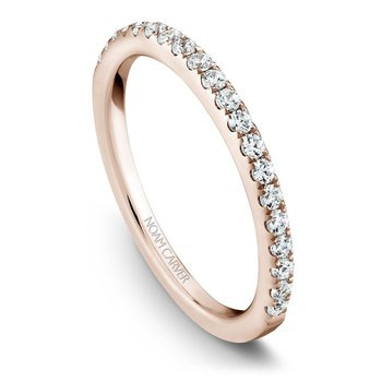Noam Carver Wedding Band B017-01RB