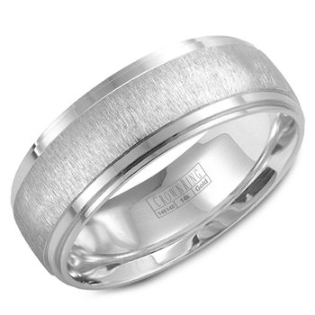 CrownRing Men's Wedding Band WB-9967