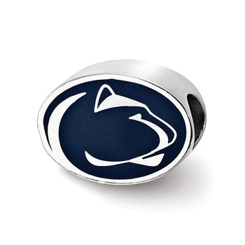 Sterling Silver Penn State University NCAA Bead
