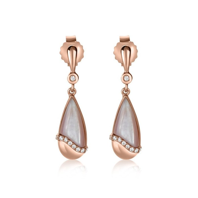 LARUS Jewelry Oblong Drop Earrings